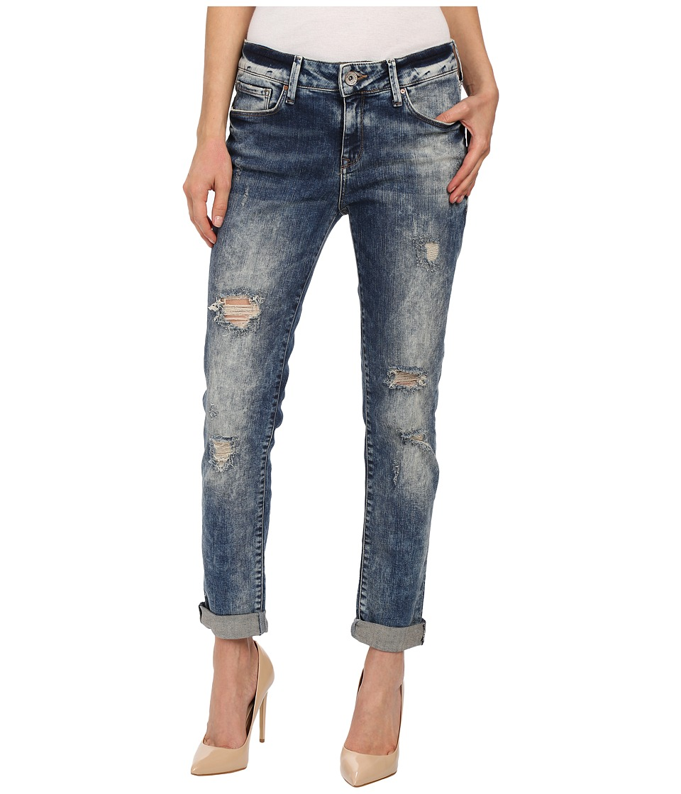 Mavi Jeans - Ada in Ripped Vintage (Ripped Vintage) Women's Jeans plus size,  plus size fashion plus size appare