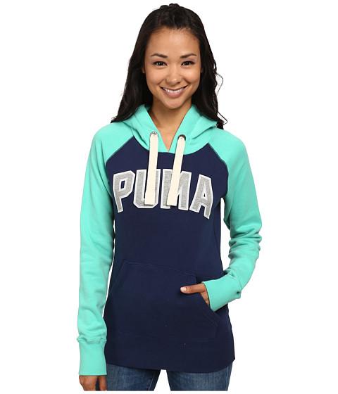 PUMA - Logo Hoodie (Medieval Blue Electric) Women
