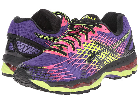 ASICS - GEL-Nimbus 17 (Purple/Black/Hot Pink) Women