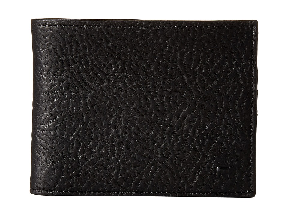 Will Leather Goods - August Billfold (Black) Bill-fold Wallet