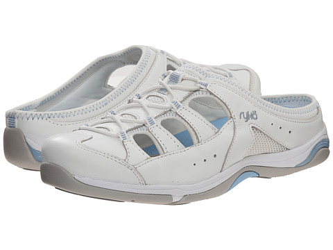 Ryka - Tensile (White/Blue) Women's Shoes