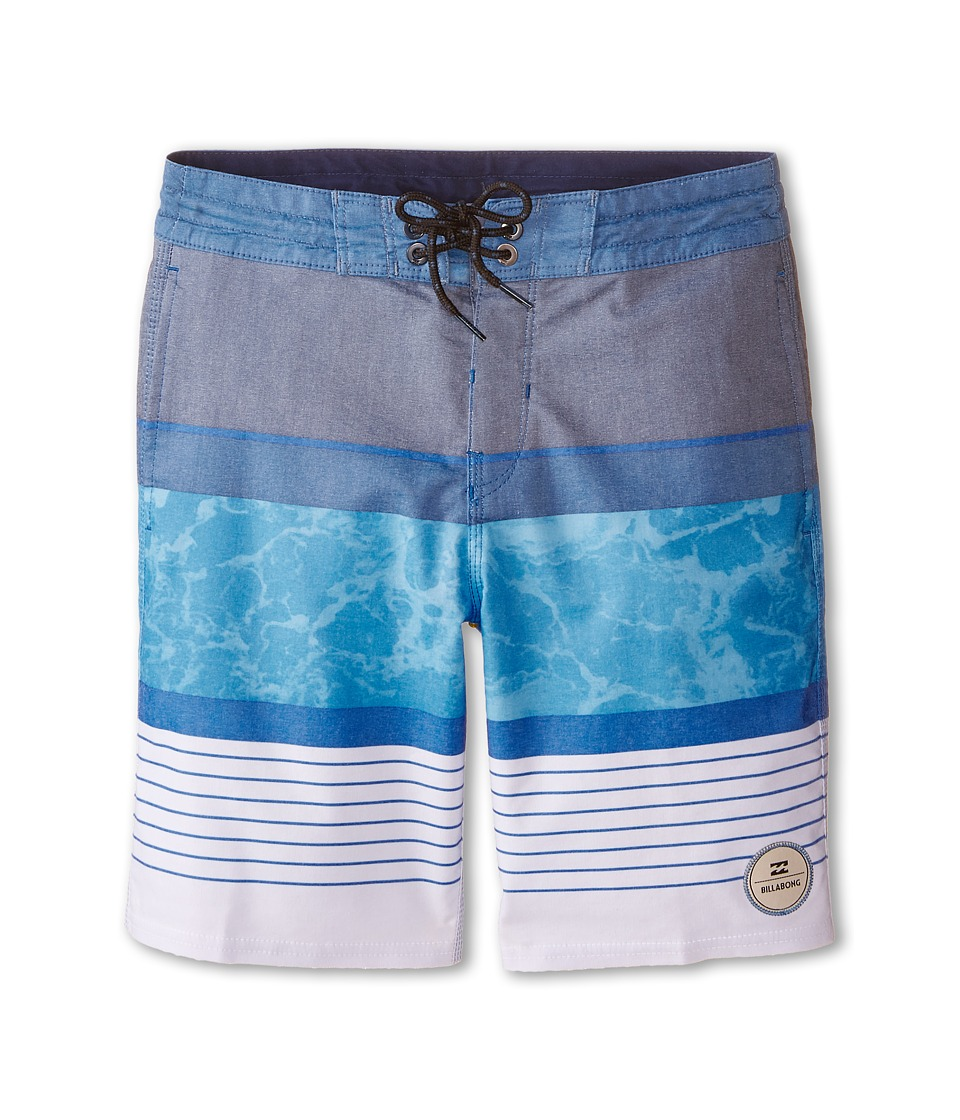 Billabong Kids - Spinner Boardshorts (Big Kids) (Blue) Boy's Swimwear
