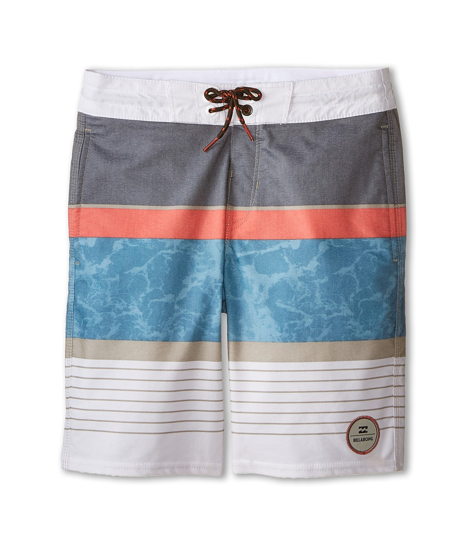 Billabong Kids - Spinner Boardshorts (Big Kids) (Slate) Boy's Swimwear