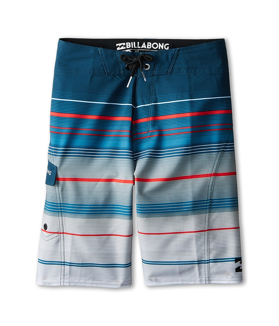 Billabong Kids - All Day X Stripe Boardshorts (Big Kids) (Sand) Boy's Swimwear