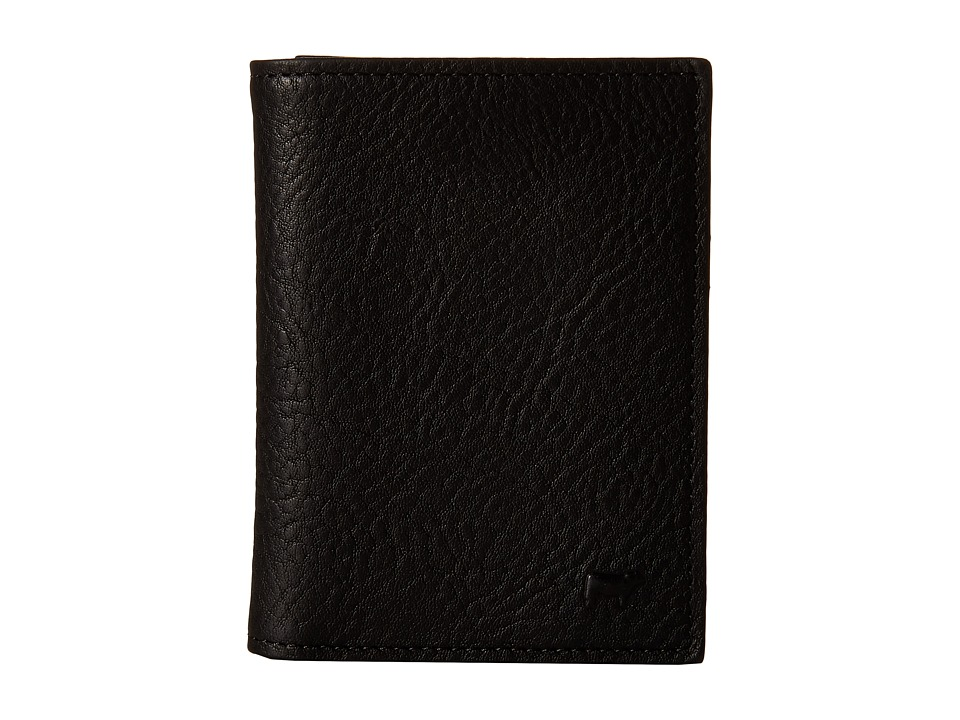 Will Leather Goods - Cyrus Card Case (Black) Credit card Wallet