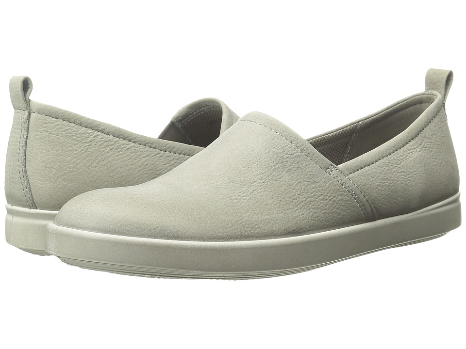 ECCO - Aimee Slip On (Warm Grey) Women's Slip on Shoes