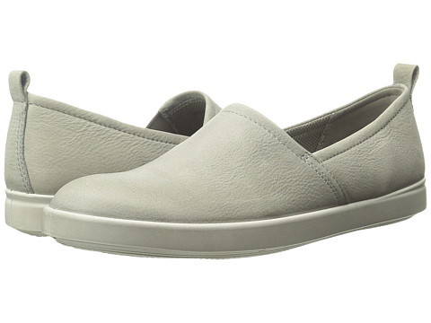 ECCO - Aimee Slip On (Warm Grey) Women's Slip on Shoes