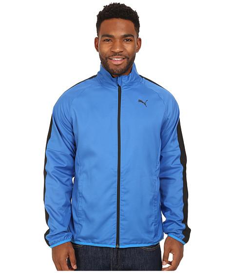 PUMA - Woven Jacket (Strong Blue/Black) Men's Coat