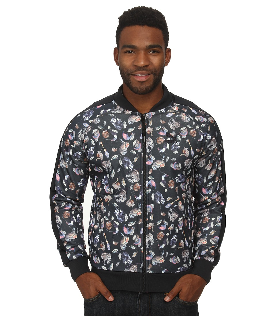 PUMA - Hoh Aop Track Jacket (Dark Navy) Men