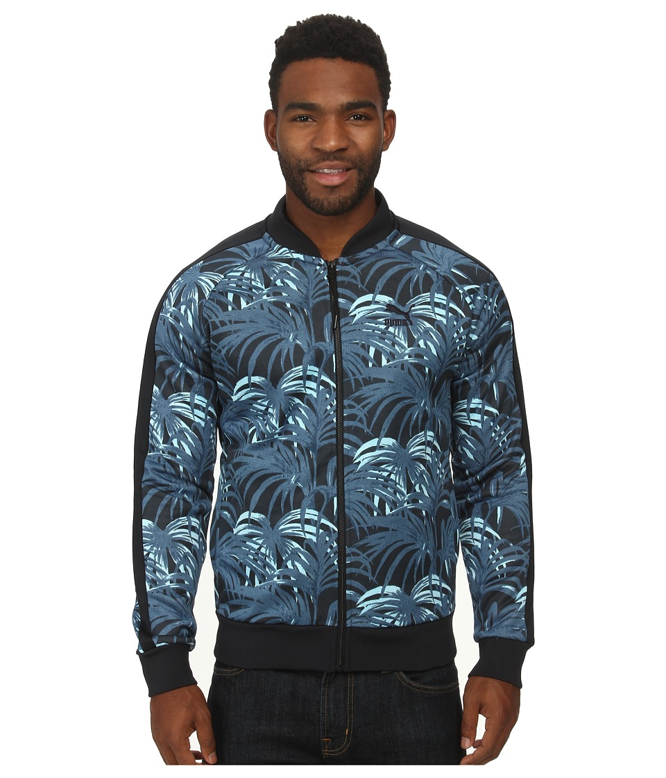 PUMA - Hoh Aop Track Jacket (Midnight Navy) Men's Jacket