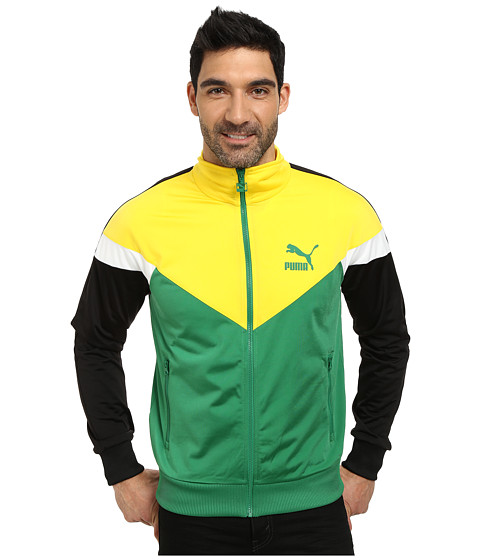 PUMA - Icon MCS Track Jacket (Amazongreen Vibranty) Men