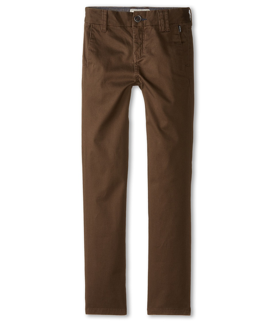 Billabong Kids - Outsider Chino Pants (Big Kids) (Earth) Boy's Casual Pants