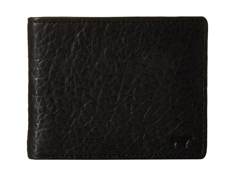 Will Leather Goods - Marvel Billfold (Black/Royal) Bill-fold Wallet