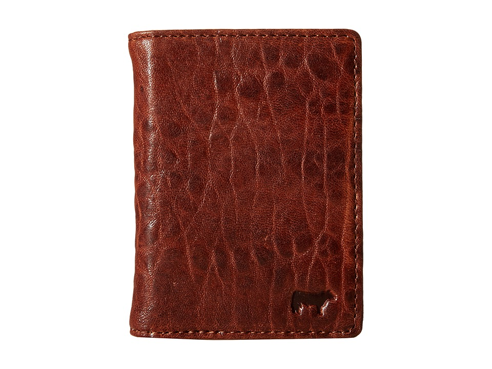 Will Leather Goods - Flip Front Pocket (Cognac/Stone) Wallet
