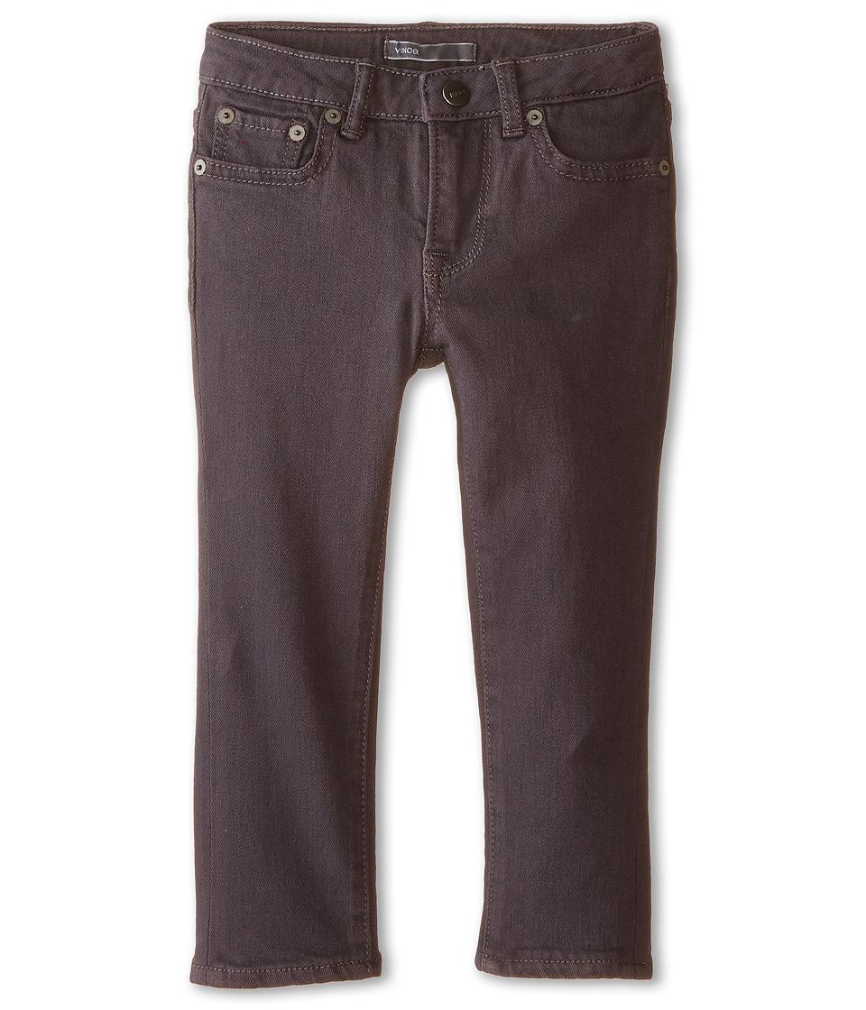 Vince Kids - Slim Fit Five-Pocket Jeans (Toddler/Little Kids) (Carbon Grey) Boy