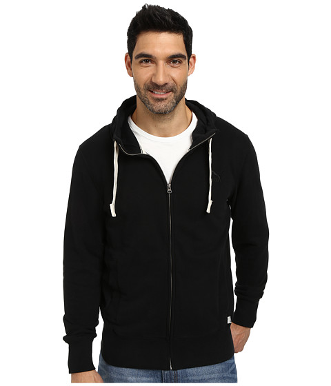 PUMA - Archive Full Zip Hoodie (Black) Men