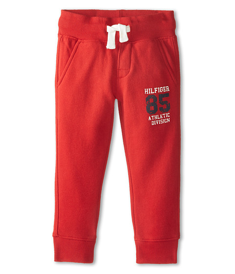 Tommy Hilfiger Kids - 85 Knit Jogger Pants (Toddler/Little Kids) (Bulls Eye) Boy's Casual Pants