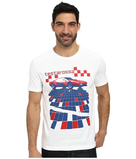 PUMA - Ferrari Anniversary Tee (White) Men's T Shirt