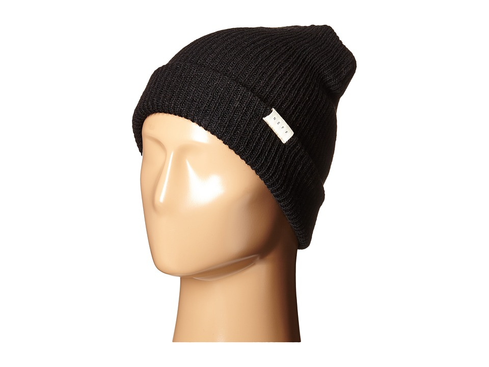 Neff - Mountain Beanie (Black) Beanies