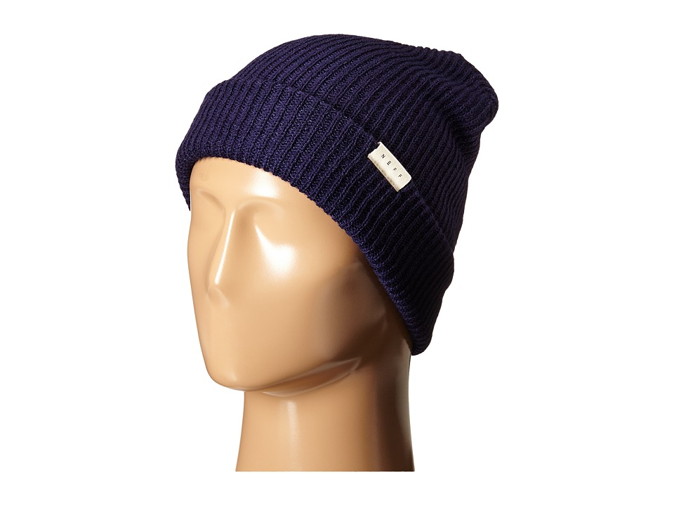 Neff - Mountain Beanie (Navy) Beanies