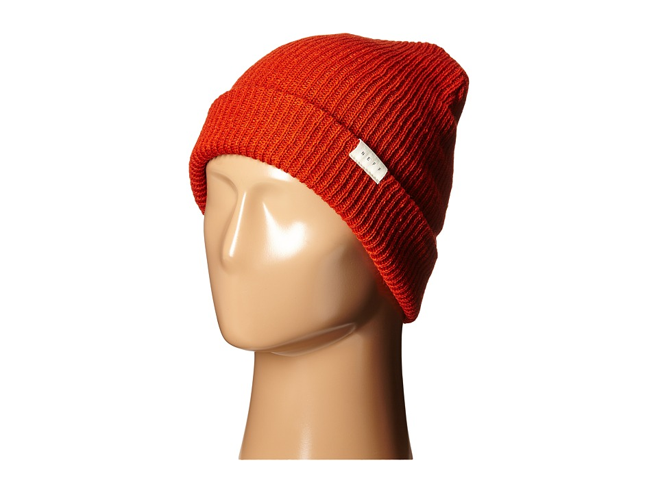 Neff - Mountain Beanie (Rust) Beanies