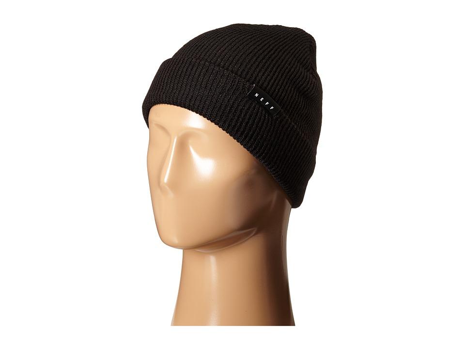 Neff - Coast Beanie (Black) Beanies