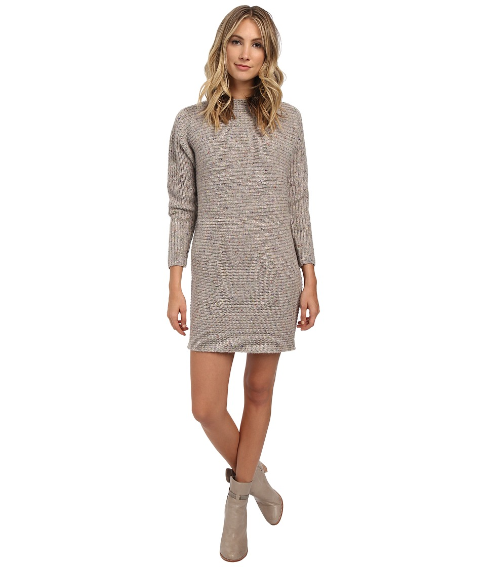 Rebecca Minkoff - Bass Sweater Dress (Cream Multi) Women's Dress