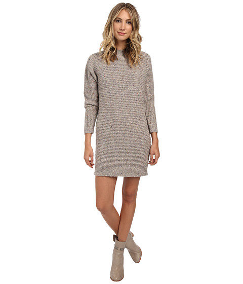 Rebecca Minkoff - Bass Sweater Dress (Cream Multi) Women's Dress