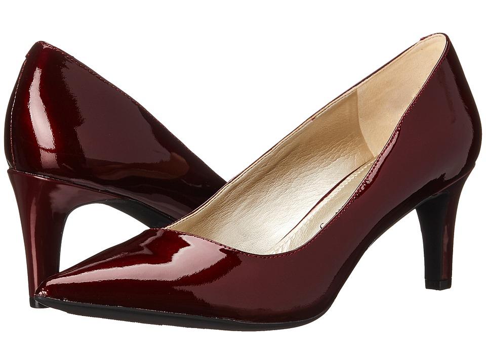 Anne Klein Barb (Wine Patent) High Heels