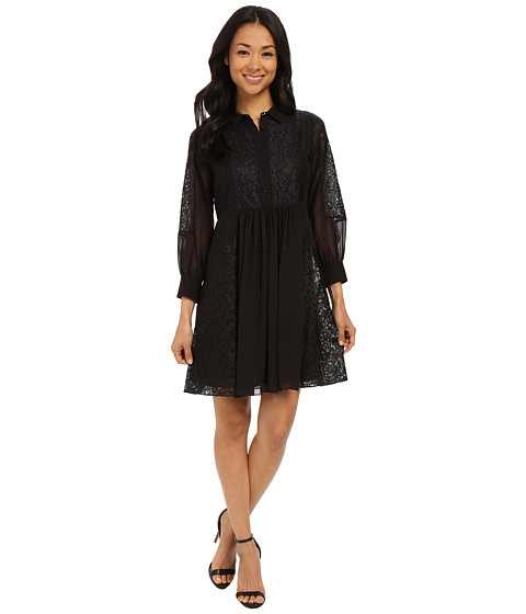 Rebecca Minkoff - Rock Dress (Black) Women's Dress