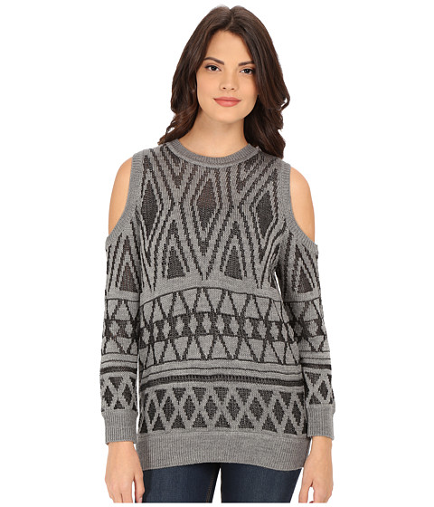 Rebecca Minkoff - Page Sweater (Grey) Women's Sweater