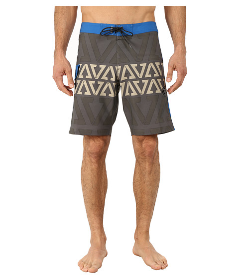 VISSLA - Founded Boardshorts (Surplus) Men's Swimwear