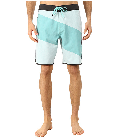 VISSLA - Cut Back Boardshorts (Jade) Men's Swimwear