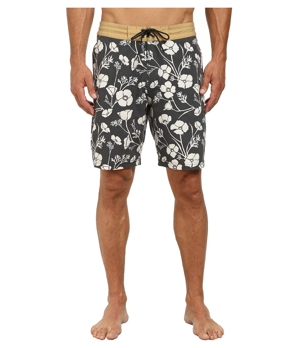 VISSLA - Californica Boardshorts (Phantom) Men