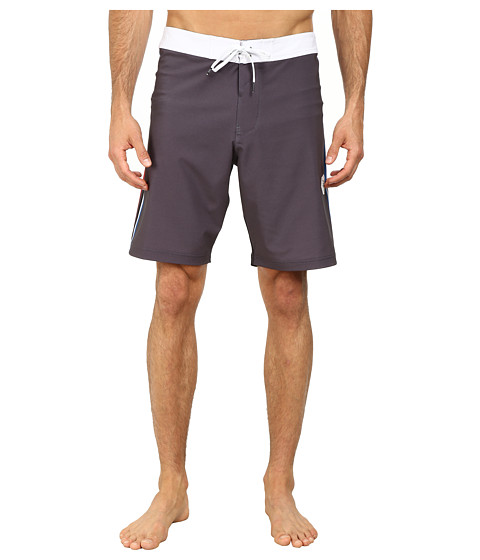 VISSLA - Rhyder Boardshorts (Black) Men's Swimwear