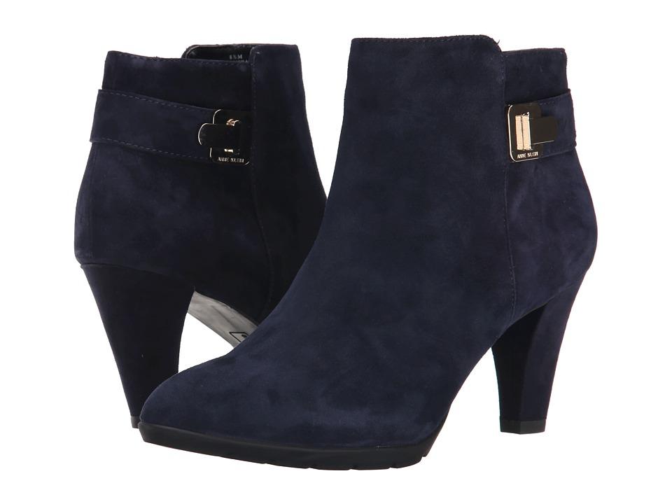 Anne Klein - Dvorah (Navy Suede) Women's Shoes