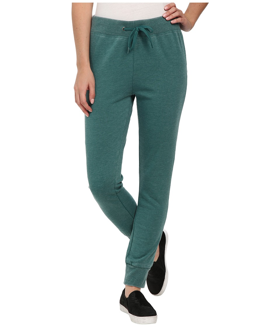 Volcom - Lived in Fleece Pants (Evergreen) Women's Casual Pants