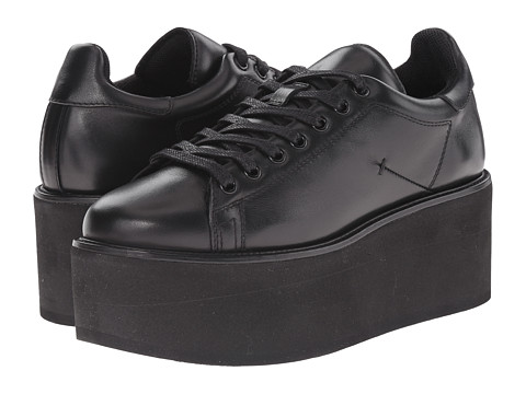 CoSTUME NATIONAL - 15366 22279 (Black Nappa Calf) Women's Lace up casual Shoes