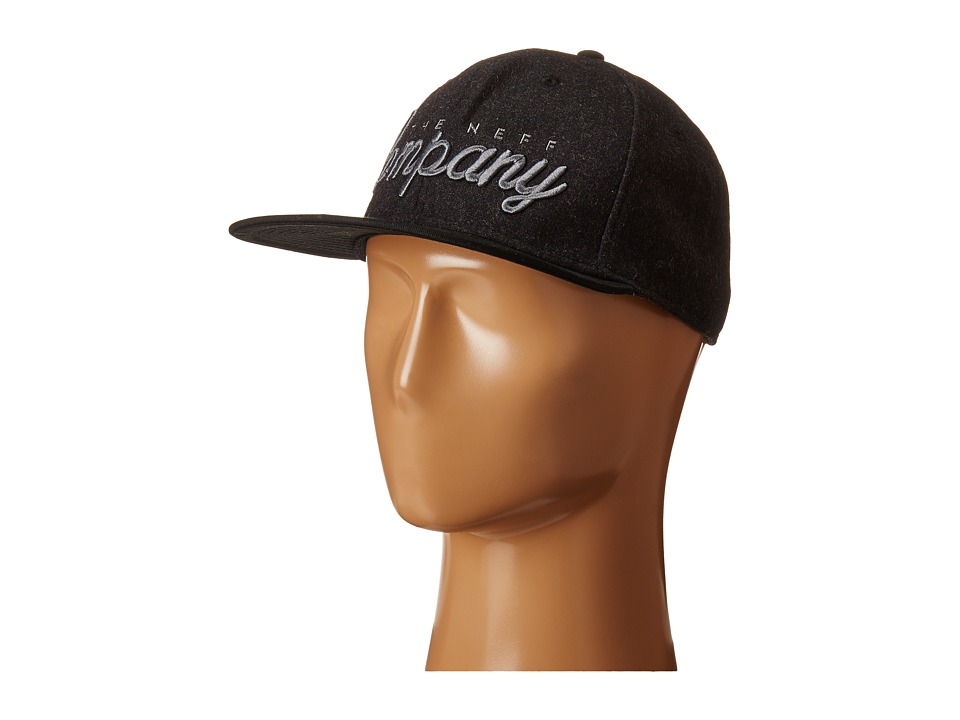 Neff - The Company Cap (Black) Caps