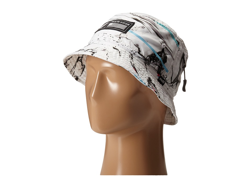 Neff - Marbled Bucket (White) Bucket Caps