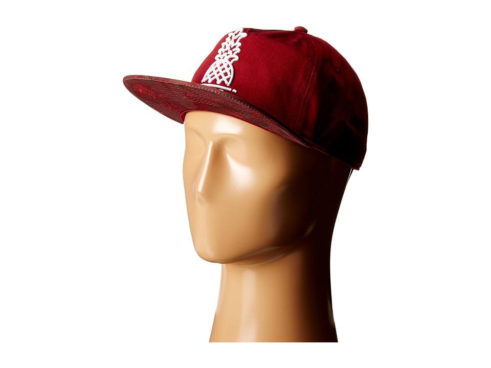 Neff - Vapay Cap (Maroon) Baseball Caps