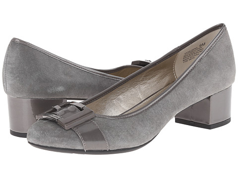 Anne Klein - AKHaleema (Pewter Leather) Women's 1-2 inch heel Shoes