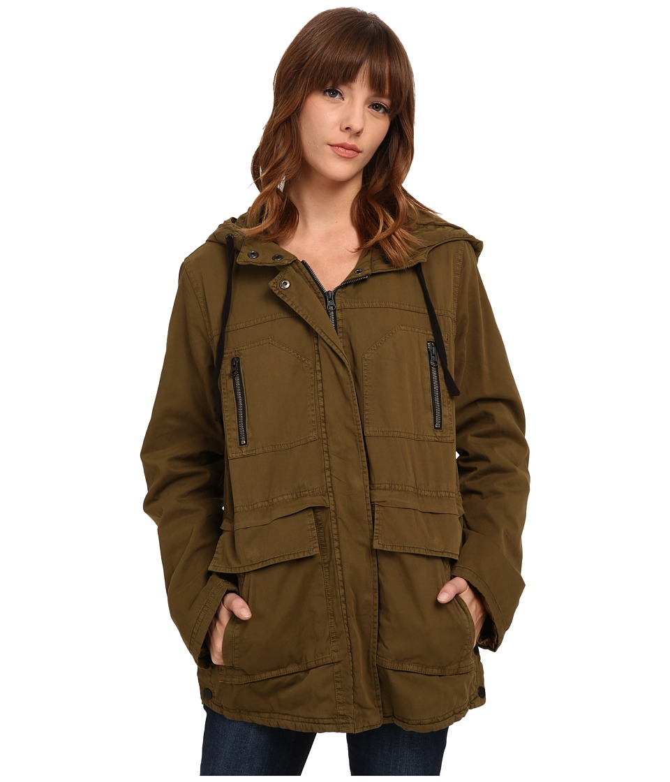 Volcom - Stand Up Jacket (Lentil Green) Women's Coat