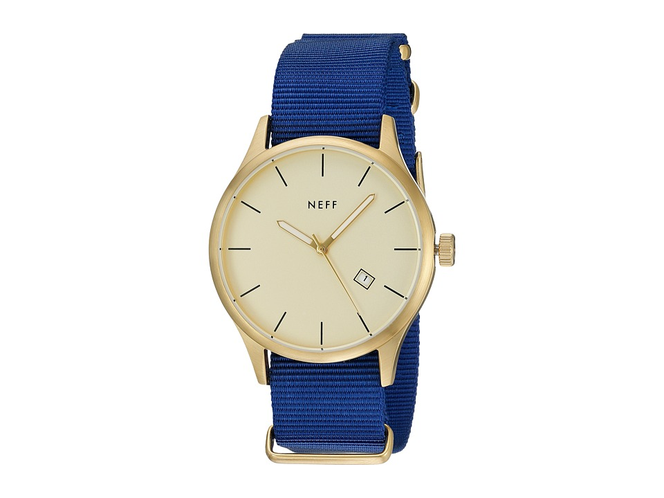 Neff - Esteban Watch (Gold/Blue) Watches