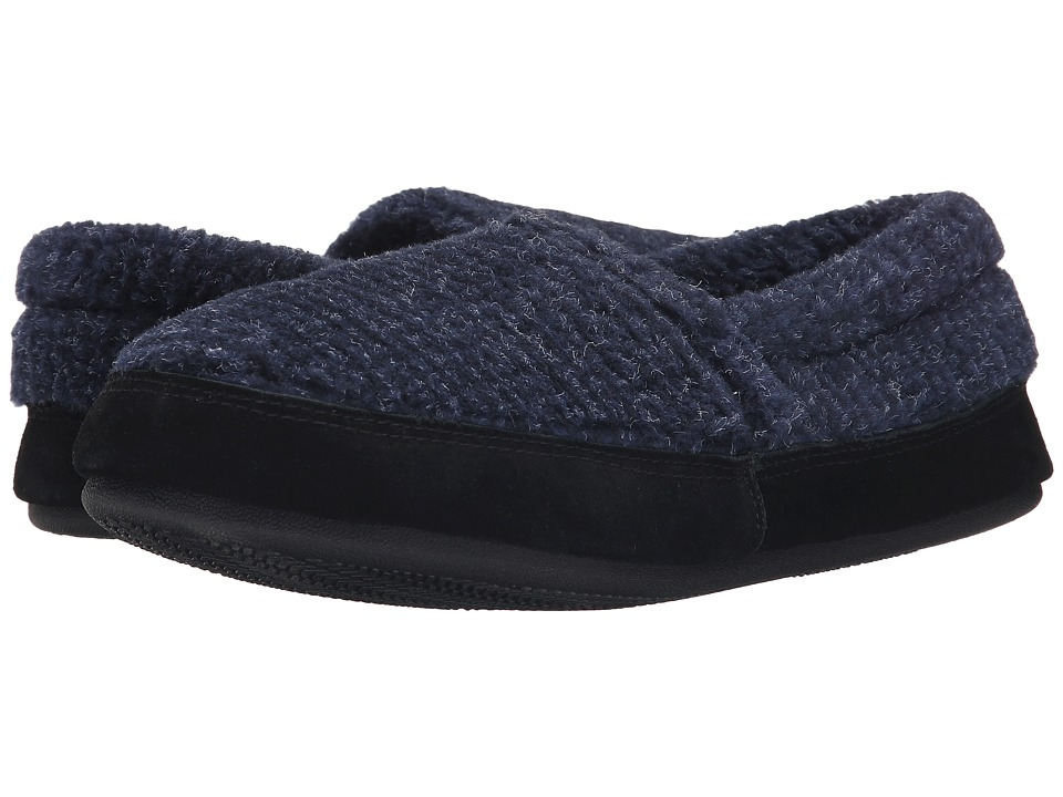 Tempur-Pedic - Stratus (Navy) Men's Slippers