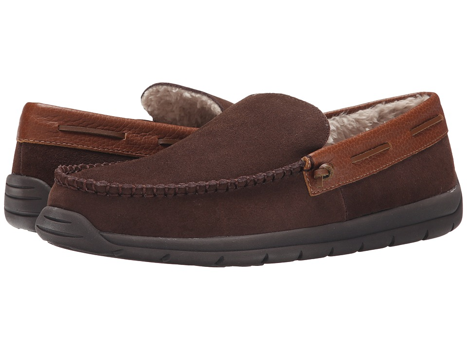 Tempur-Pedic - Upslope (Chocolate) Men's Slippers