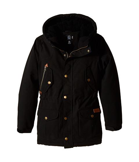 Volcom Kids - Starget Parka (Big Kids) (Black) Boy's Coat