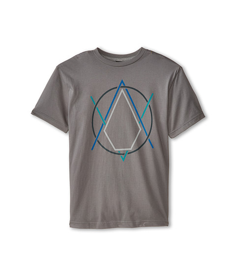 Volcom Kids - Creak In Short Sleeve Tee (Big Kids) (Dark Grey) Boy's T Shirt