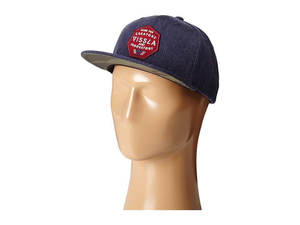 VISSLA - Made For Hats (Naval Heather) Caps