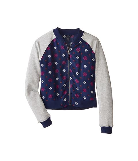 Tommy Hilfiger Kids - Rayon Challis Baseball Jacket (Big Kids) (Flag Blue) Girl